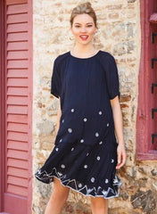 Maternity Embroidered Dress - Summer Stories - Mums and Bumps