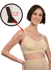 Maternity & Nursing Bra - Nude - Mums and Bumps