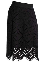 Matilda Maternity Skirt - Black - Mums and Bumps