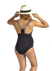 Montego Bay Black One Piece Maternity Swimsuit - Mums and Bumps