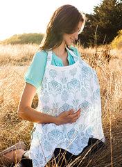 Muslin Isla Bebe Nursing Cover - Mums and Bumps