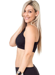 Racerback Nursing Bra - Everyday Bra Black - Mums and Bumps