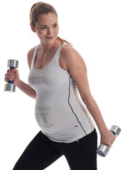 Staying Fit Together Exercise Maternity Top - Mums and Bumps