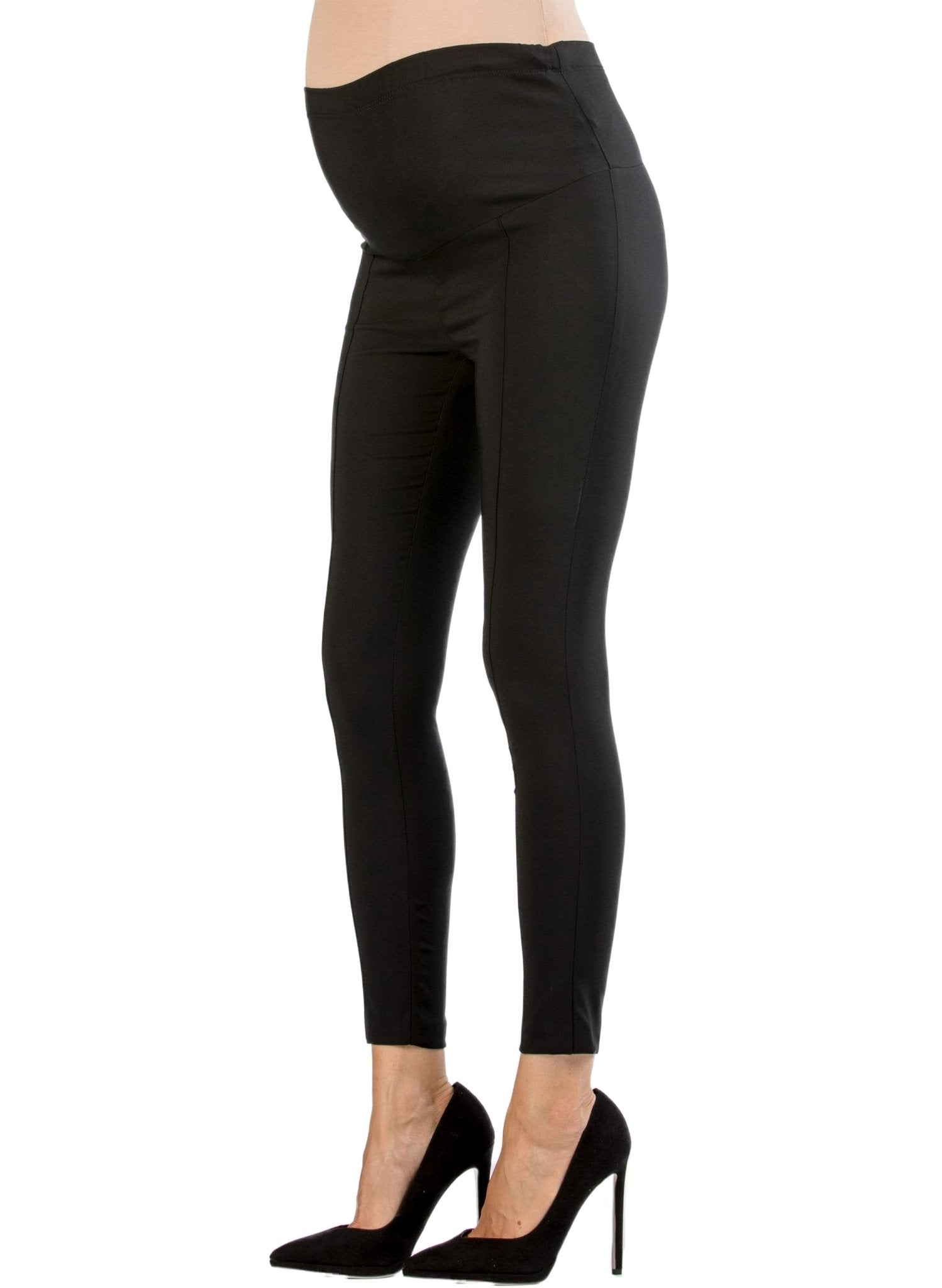 Super Stretch Maternity Legging - Black - Mums and Bumps