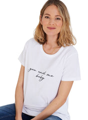 Thalia Maternity Tee - You and Me Baby - Mums and Bumps