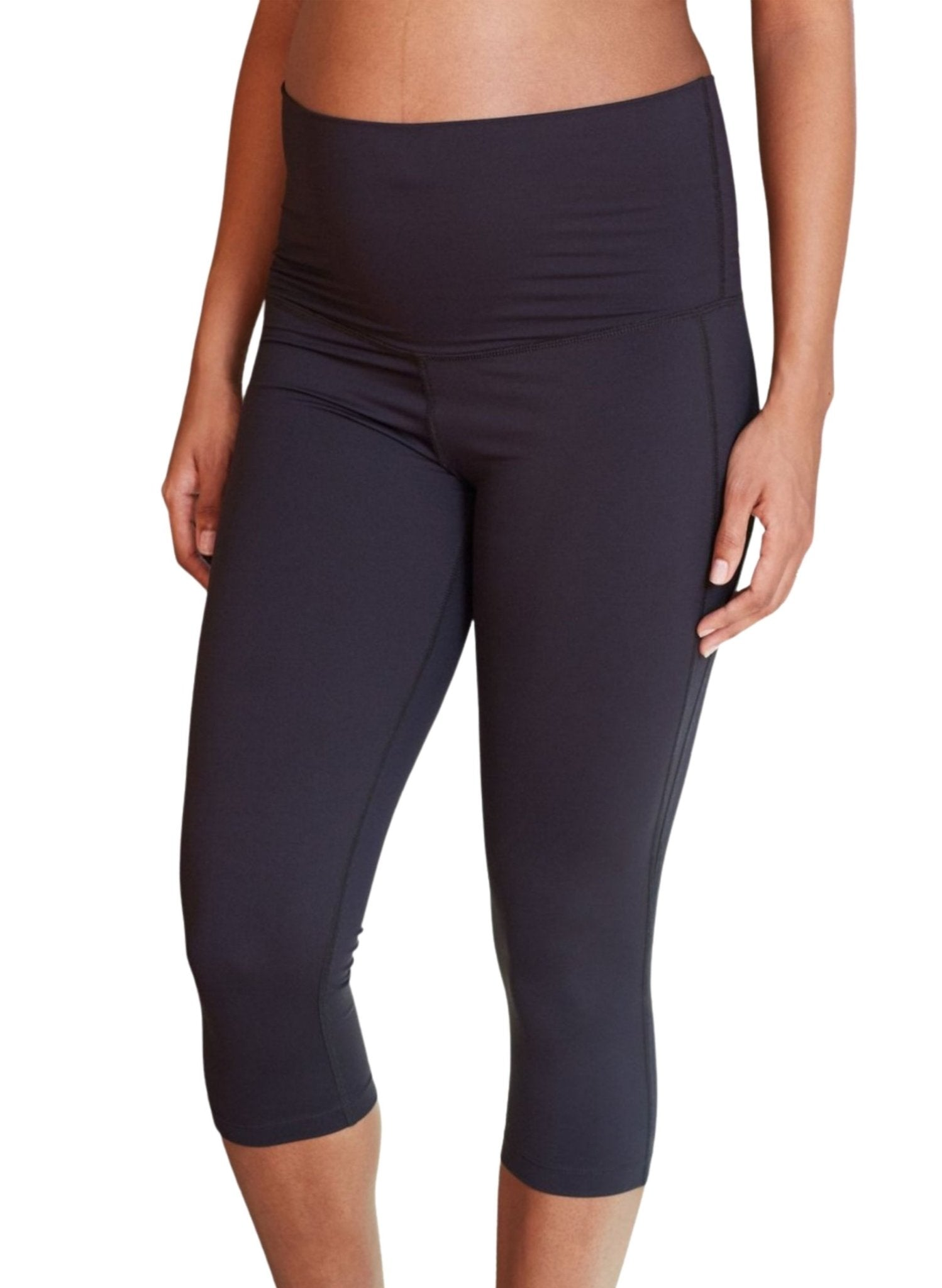 The Active Cropped Overbelly Maternity Legging - Mums and Bumps