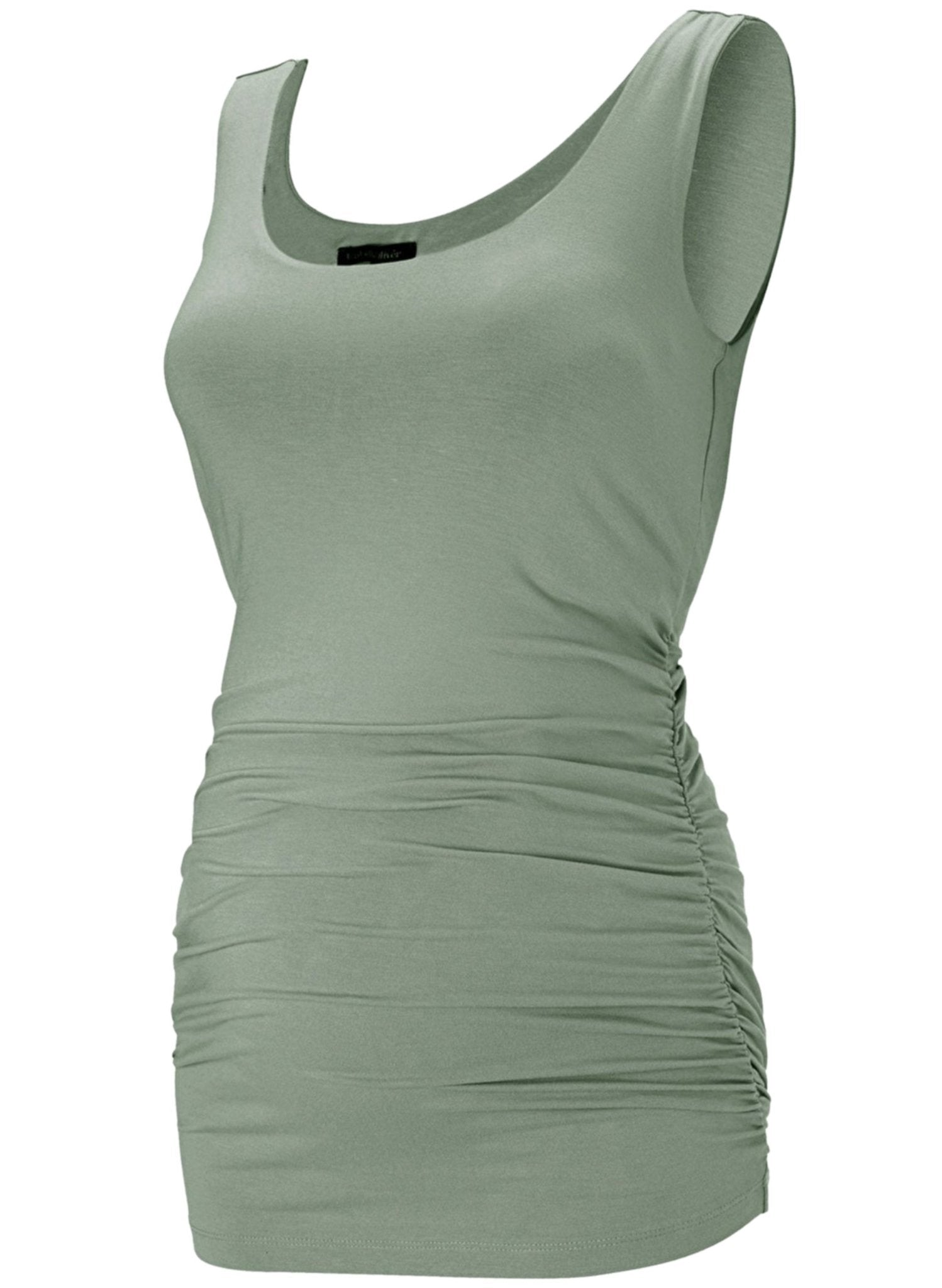 The Maternity Tank - Dusted Khaki - Mums and Bumps