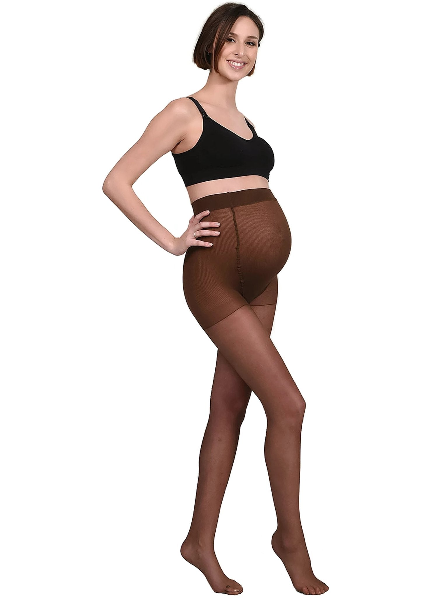 Tights 20Den - Brown - Mums and Bumps