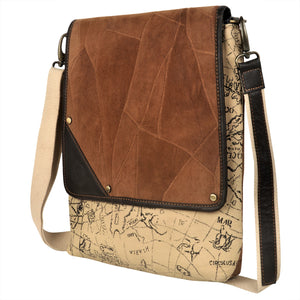 Flare Brown Crossbody