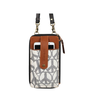 Peace Prism Cellphone Crossbody