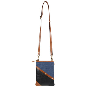 Denim Brisk Crossbody