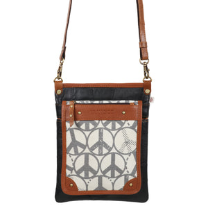 Peace Vela Small Crossbody