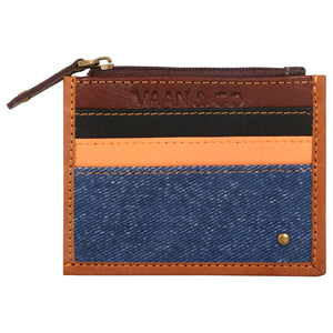 DENIM CREDIT CARD WALLET