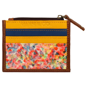 FLORAL CREDIT CARD WALLET