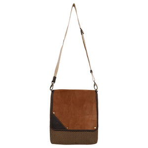 Flare Tan Crossbody