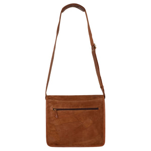 Roma Brown Crossbody