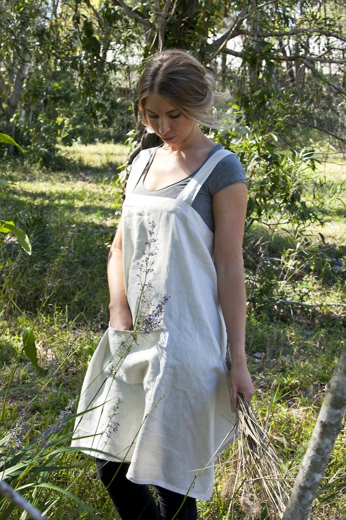Everyday Linen Apron - Natural