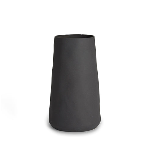 Charcoal cloud tulip vase - XL