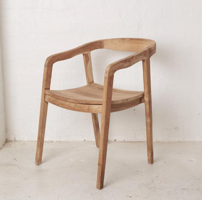 Ada Dining Chair - Natural - Winston and Finch