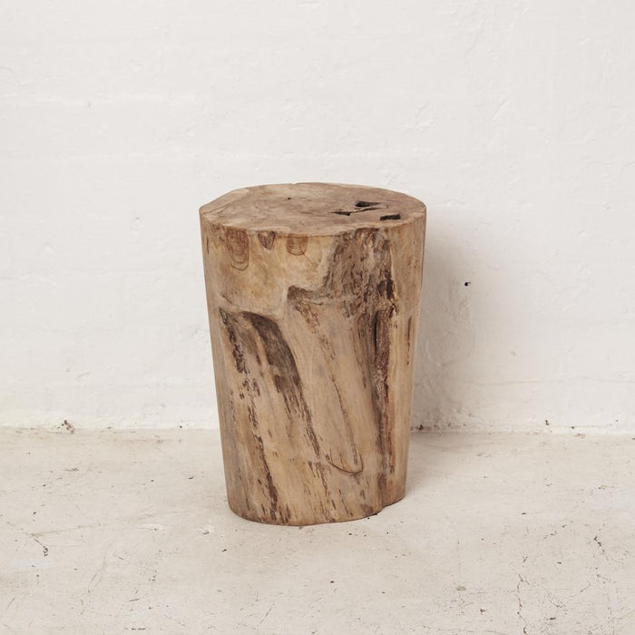 Hadi Natural Tree Stump Stool - Winston and Finch