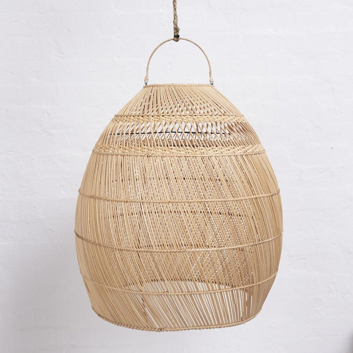 PREORDER - Daliah Rattan Slim Light Shade Natural - Winston and Finch