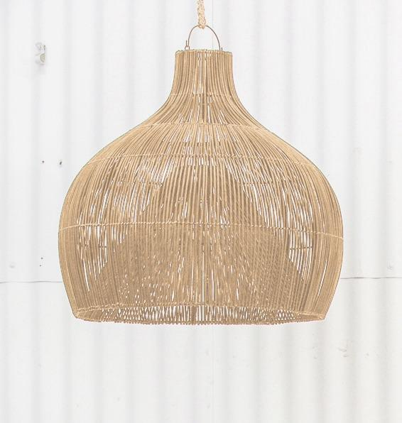 PREORDER - Dari Rattan Oversized Light Shade Natural - Winston and Finch