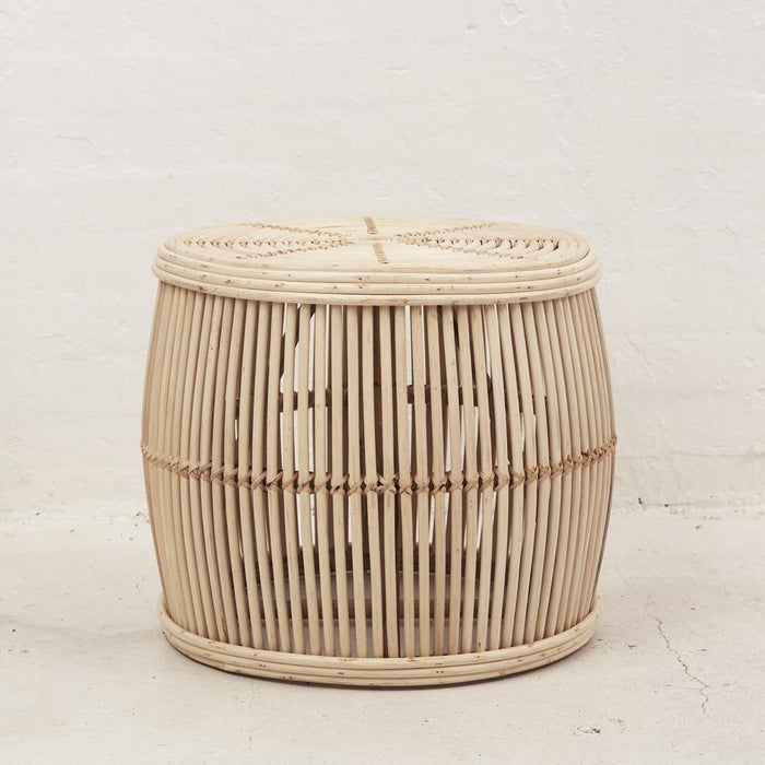 PREORDER- Ira Rattan Coffee Table - NATURAL - Winston and Finch