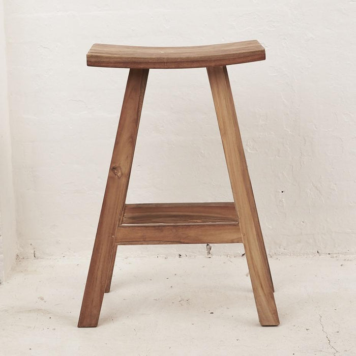 PREORDER - Sena Rustic Finish Bar Stool - Winston and Finch