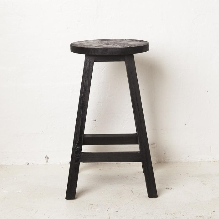 PREORDER - Zana Bar Stool - Black - Winston and Finch