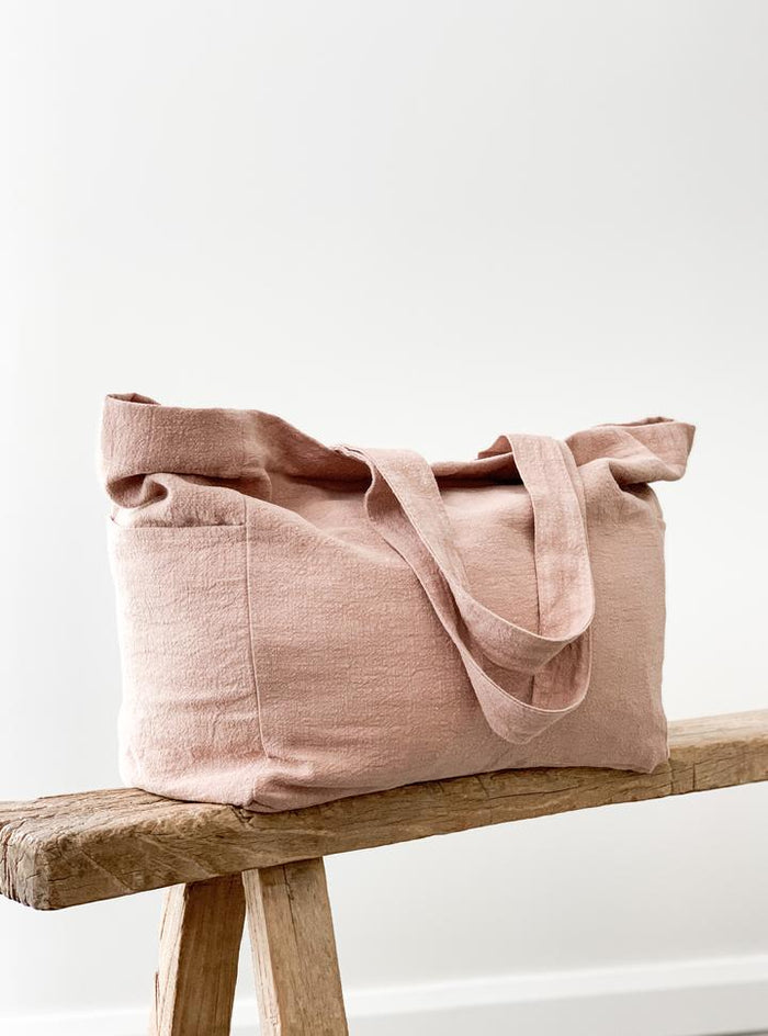 Ramie Bag - Blush - Winston and Finch