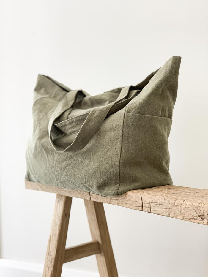 Ramie Bag - Olive - Winston and Finch