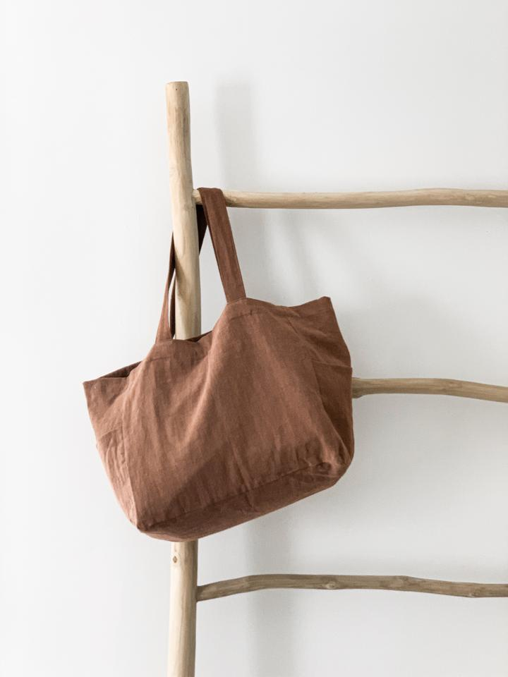 Ramie Bag - Rust - Winston and Finch