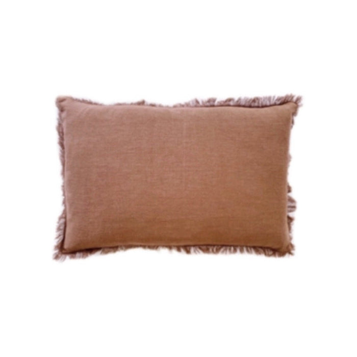 Ramie Lumbar Cushion - Rust - Winston and Finch