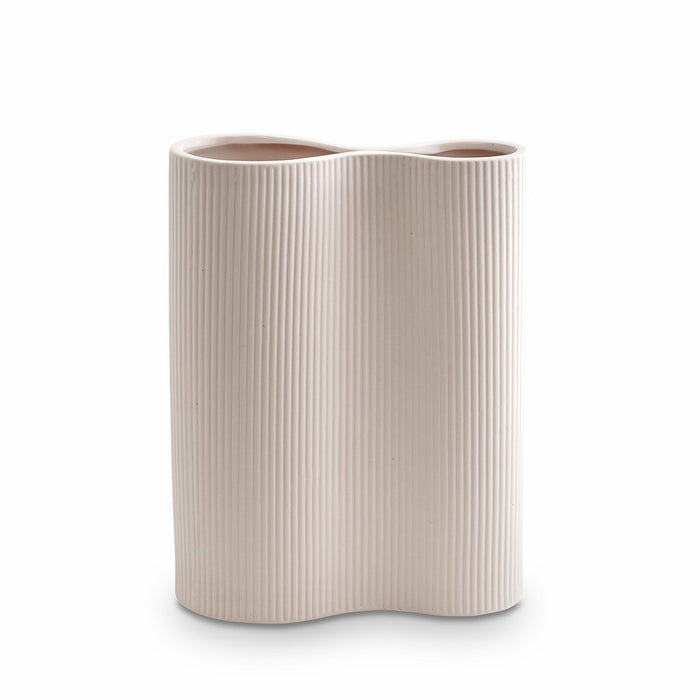 Ribbed Infinity Vase Nude - Medium - Winston and Finch