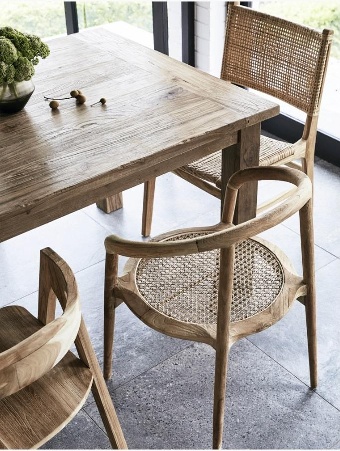 Ridha Teak Dining Table - Winston and Finch