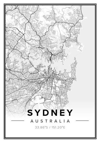Sydney Geo Print - Winston and Finch
