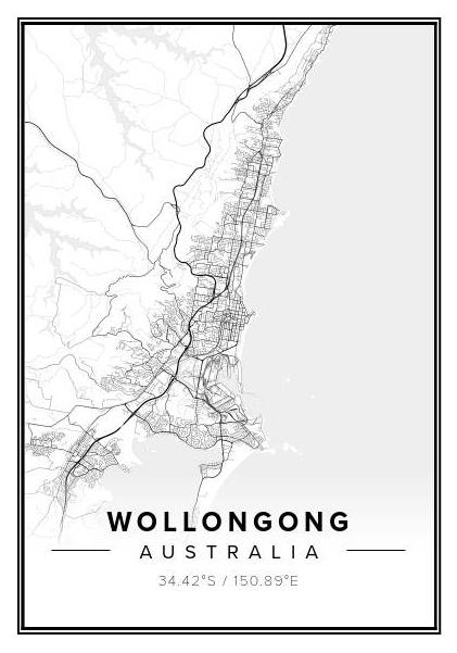 Wollongong Geo Print - Winston and Finch