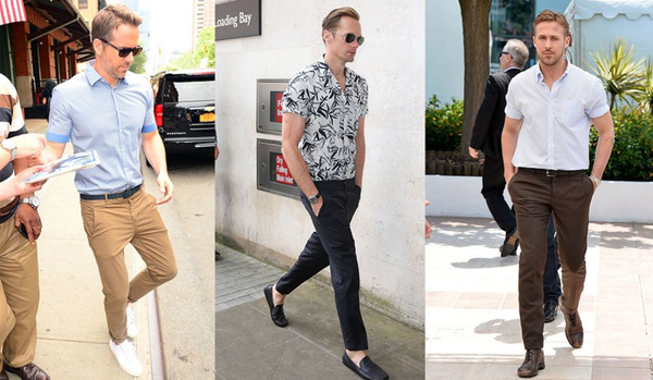 3 different styles of Casual Club Christmas Party Costumes For Men