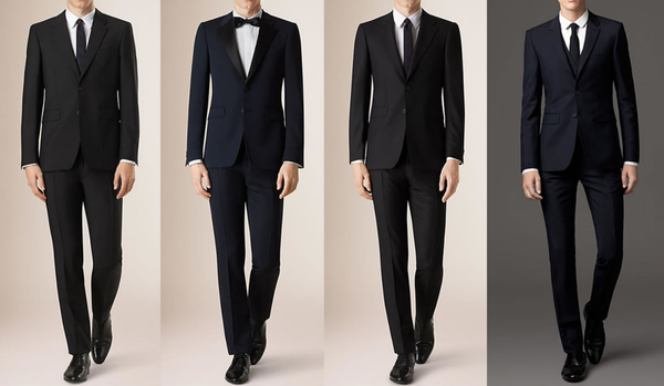 4 styles of Office Christmas Party Costumes For Men