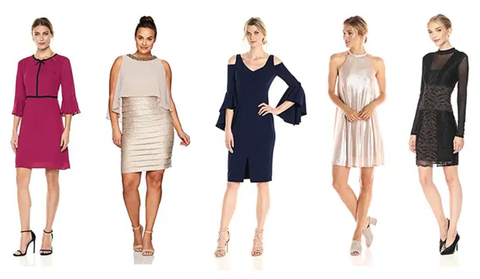 5 Different styles of formal christmas costumes for women