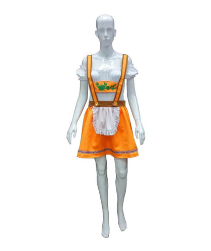 Adult Women's Oktoberfest Beer Garden Girl Costume HC-083 - HalloweenPartyOnline