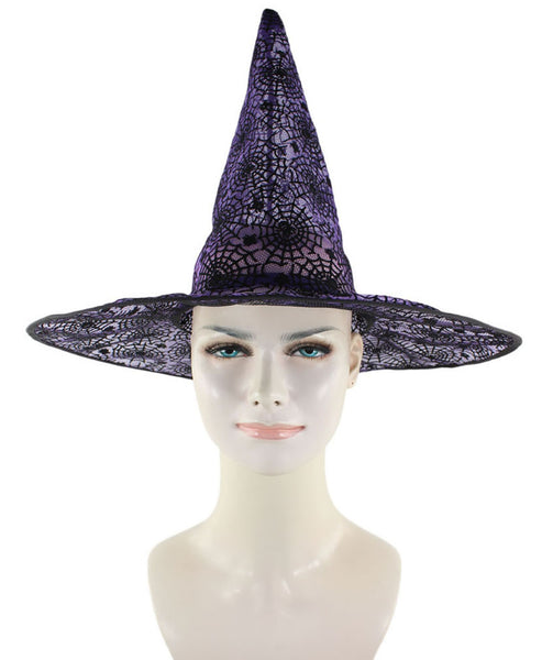Purple & Black Witch Hat HA-002
