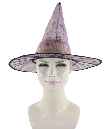 Pink Sweetheart Witch Hat