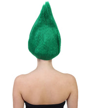 South Africa Flag Troll Wig | National Pride Green Sport Wig | Premium Breathable Capless Cap