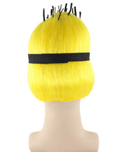 Minions Wig | Short Yellow Wig