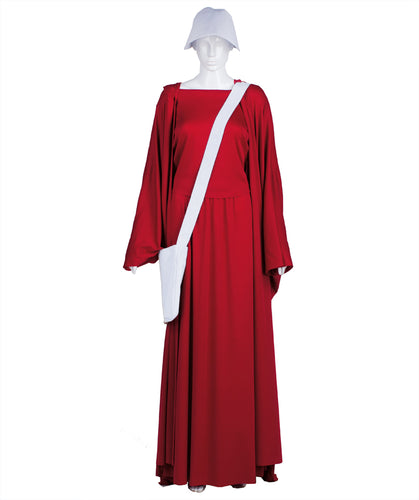 The Handmaid's Tale Full Set Costume | Red Handmaids Halloween Costume