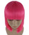 Hot Pink Bob Wig | Fancy Party Event Ready Halloween Wig | Premium Breathable Capless Cap
