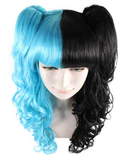 Dolly Wig | Blue and Black Wig | Premium Breathable Capless Cap