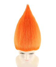 Women's Wig for Cosplay Orange Troll Style HW-1347 - HalloweenPartyOnline