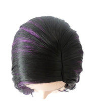 Psylocke Wig | Black Purple Sexy Cosplay Party Wig | Premium Breathable Capless Cap